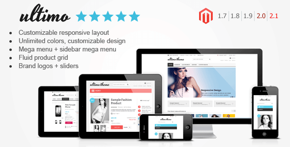 template ultimo magento ecommerce
