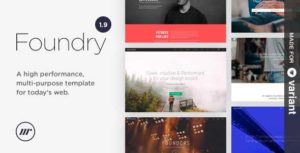 foundry template html5