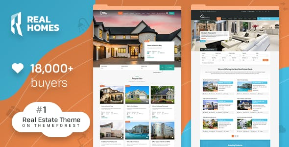 Number One WordPress Real Estate Theme on ThemeForest