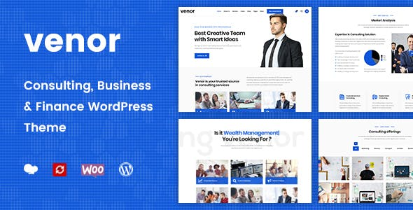 Venor - Business Consulting WordPress Theme - 2