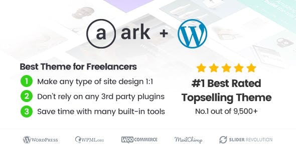 The Ark | WordPress Theme made for Freelancers - 1