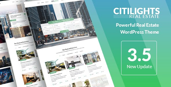 Citilights real estate template documentation