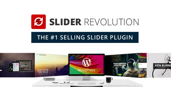 Slider Revolution Responsive WordPress Plugin - 1