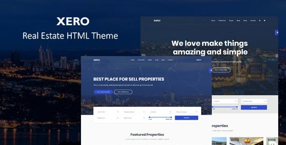 Xero - Real Estate HTML Template - 1