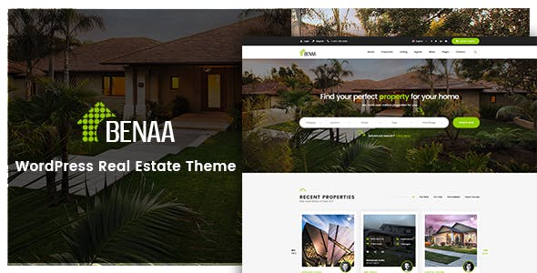 Benaa - Real Estate WordPress Theme - 5