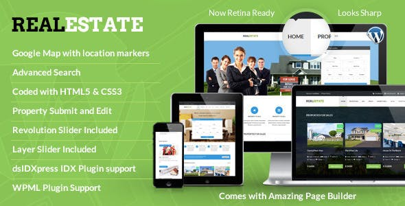 Real Estate - Responsive Real Estate Theme - 1
