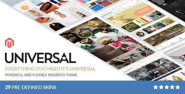 Universal - Multi-Purpose Responsive Magento 2.2 and Magento 1 Theme - 1