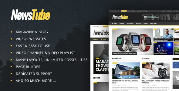 NewsTube - Magazine Blog & Video - 1